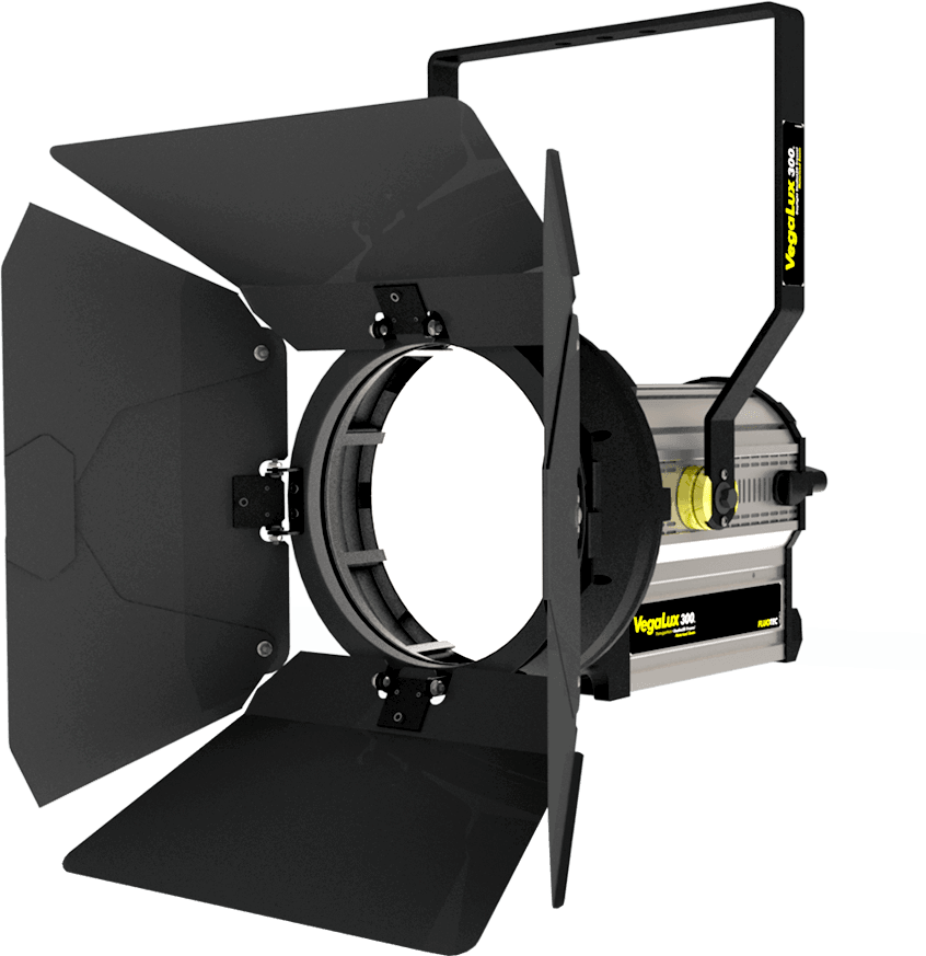 vegaluz 300 studio fresnel, Maximum performance in white light